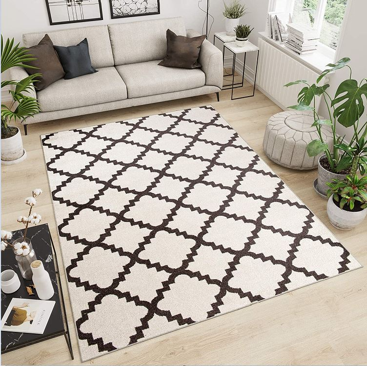 Marocco motif rug for smallrrom